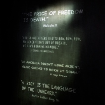 """""""A riot is the language of the unheard."""""""