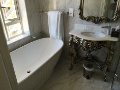 My bathroom at Versailles.