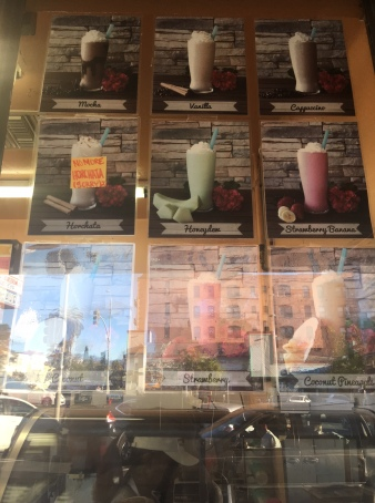 More smoothies/shakes (and glare)