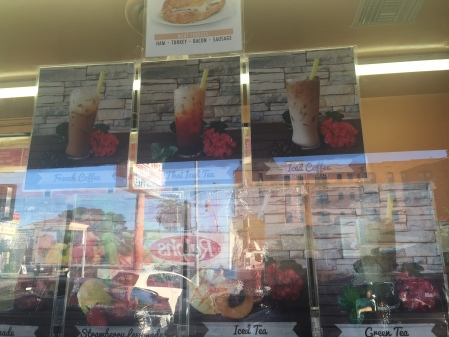 Smoothies/shakes (mind the glare)