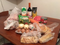 Groceries: about $50