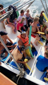 Getting ready to go snorkeling!